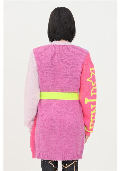 Cardigan donna multicolor teen idol con cintura in vita TEEN IDOL | Cardigan | 030022200