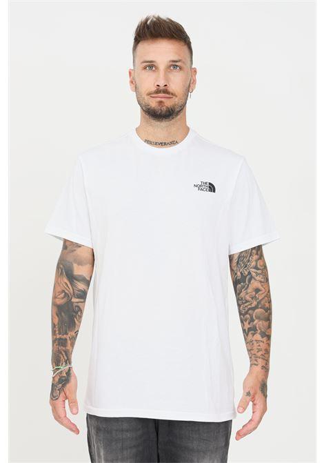 T-shirt uomo bianco the north face con mini logo a contrasto THE NORTH FACE | T-shirt | NF0A2TX5FN41FN41