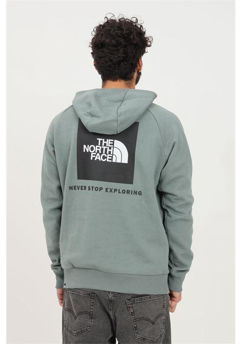 Felpa uomo verde the north face con cappuccio THE NORTH FACE   Felpe   NF0A2ZWUHBS1HBS1
