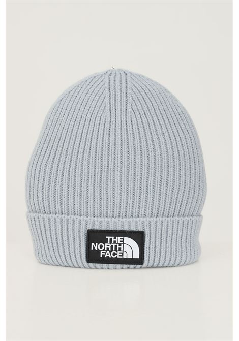 Grey unisex hat by the north face with logo application on the front THE NORTH FACE   Hat   NF0A3FJXZDK1ZDK1