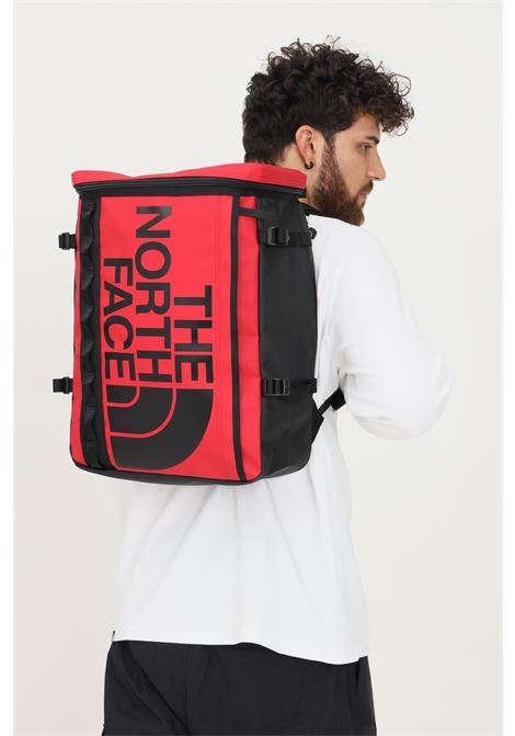 Red unisex base camp fuse box backpack with maxi logo in contrast  THE NORTH FACE | Backpack | NF0A3KVRKZ31KZ31