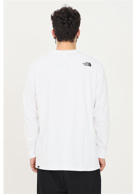 T-shirt the north face boruda long box uomo bianco a manica lunga THE NORTH FACE | T-shirt | NF0A4C9IFN41FN41