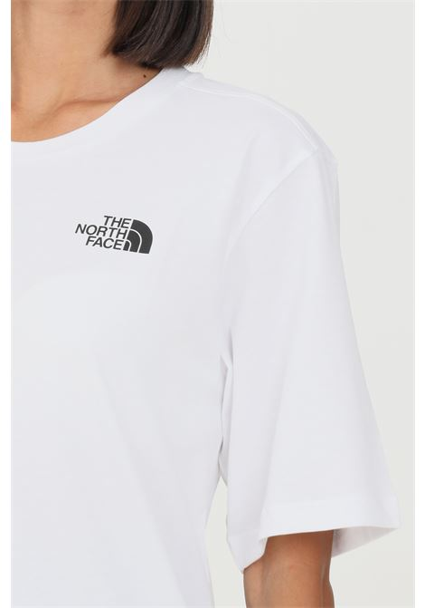 White women's simple dome t-shirt by the north face, short sleeve THE NORTH FACE | T-shirt | NF0A4CESFN4FN4