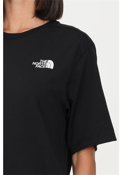 Black women's simple dome t-shirt by the north face short sleeve THE NORTH FACE | T-shirt | NF0A4CESJK31TNF BLACK