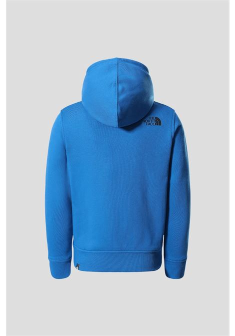 Baby blue the north face hooded sweatshirt with print  THE NORTH FACE | Sweatshirt | NF0A4MA5T4S1T4S1