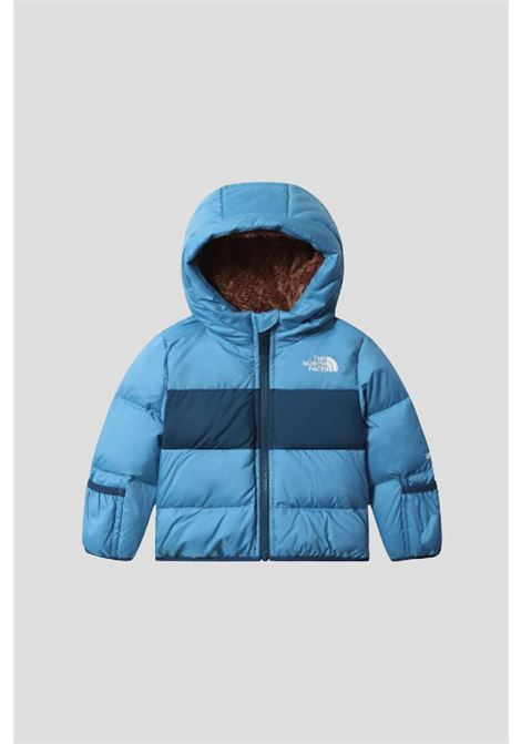 Baby blue jacket the north face with fur inside  THE NORTH FACE   Jacket   NF0A4TJPNRR1NRR1