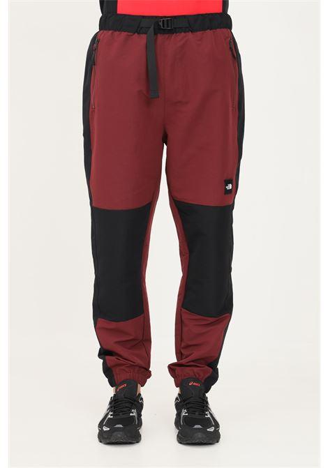Pantaloni uomo bordeaux the north face modello casual regolabile con fibbia THE NORTH FACE | Pantaloni | NF0A55BGD4S1D4S1
