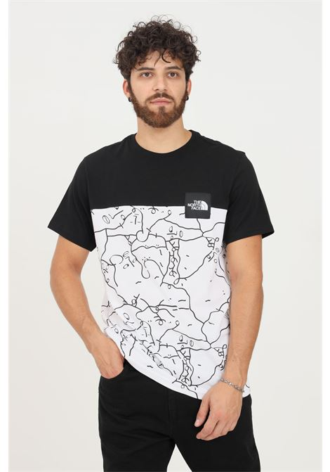 T-shirt uomo bianco nero the north face a manica corta THE NORTH FACE   T-shirt   NF0A55IB26C126C1