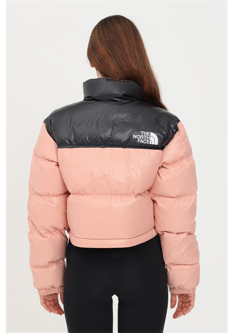 Pink women's jacket with zip by the north face  THE NORTH FACE | Jacket | NF0A5GGE0LA10LA1