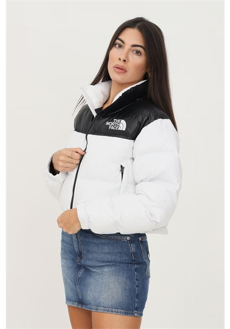 Two tone women's down jacket by the north face, short cut THE NORTH FACE | Jacket | NF0A5GGELA91LA91