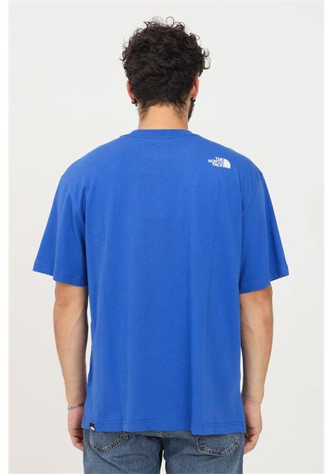 T-shirt uomo blu the north face a manica corta con taschino frontale THE NORTH FACE   T-shirt   NF0A5ICBCZ61CZ61