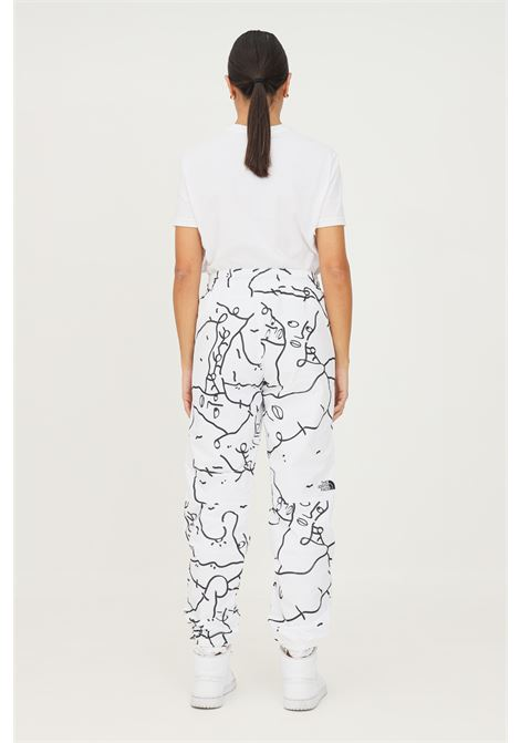 White women's trousers by the north face with contrasting print THE NORTH FACE | Pants | NF0A5ICG26C126C1