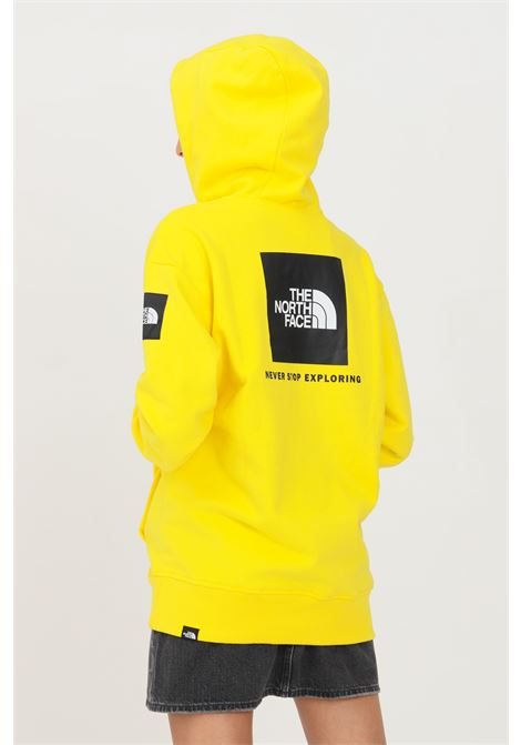 Yellow women's hoodie by the north face THE NORTH FACE | Sweatshirt | NF0A5ICJRR81RR81