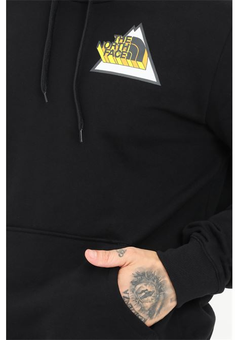Black men's hoodie by the north face with front print THE NORTH FACE | Sweatshirt | NF0A5ICTJK31JK31