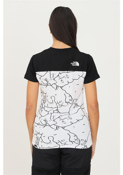 Black women's t-shirt by the north face with print, short sleeve THE NORTH FACE | T-shirt | NF0A5ICV26C126C1