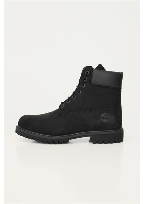 Black unisex timberland premium 6 in waterproof boot black nubuck boots TIMBERLAND | Ankle boots | TB01007300110011