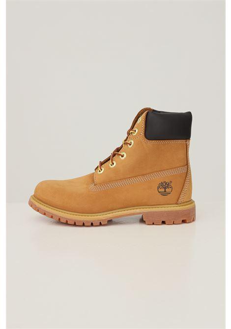 Mustard unisex timberland premium 6 in waterproof boot wheat nubuck  TIMBERLAND | Ankle boots | TB01036171317131