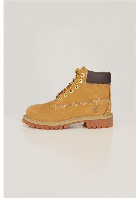 Mustard baby timberland premium 6 in waterproof boot wheat nubuck TIMBERLAND | Ankle boots | TB01270971317131