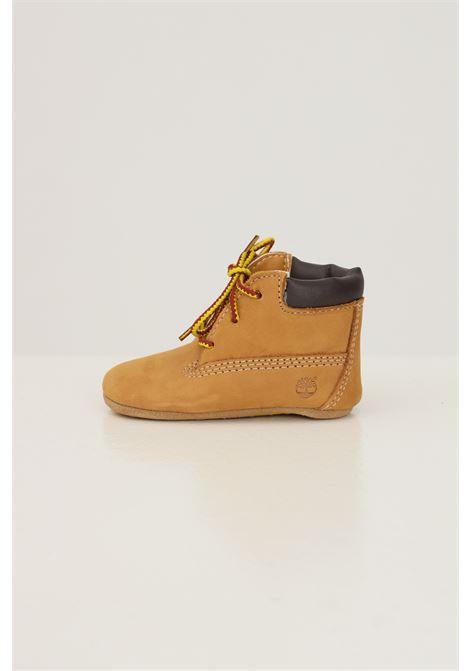 Scarpine e cappellino da neonato senape by timberland TIMBERLAND | Sneakers | TB09589R23112311