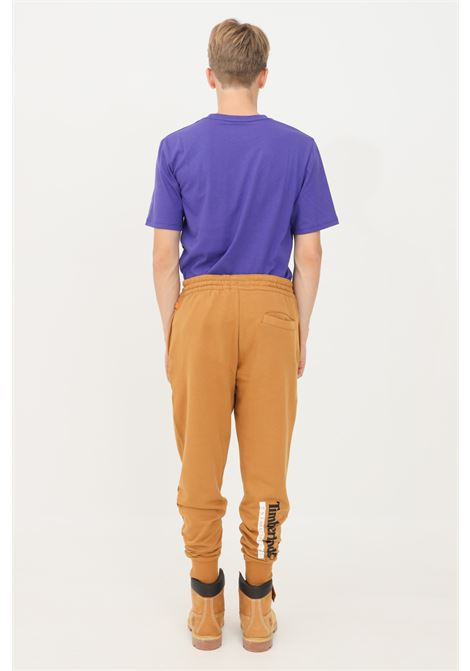 Brown men's established sweatpants by timberland TIMBERLAND | Pants | TB0A2AN4Z421Z421