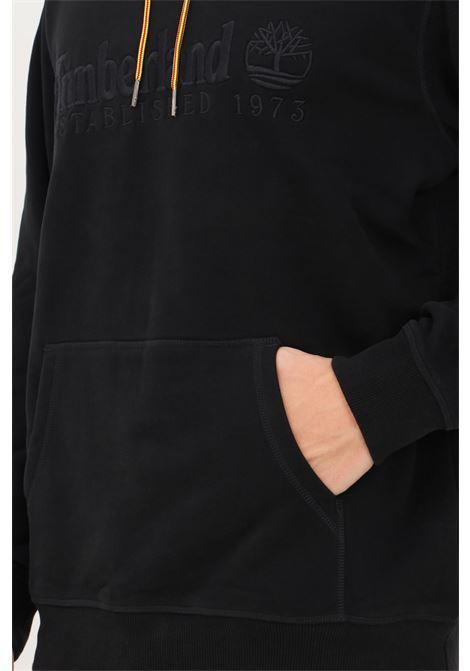 Black men's hoodie by timberland TIMBERLAND | Sweatshirt | TB0A2CRM00110011
