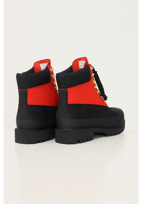 Black red men's premium 6 in waterproof boot md org nubuck w blk boots by timberland TIMBERLAND | Ankle boots | TB0A2KEC84518451