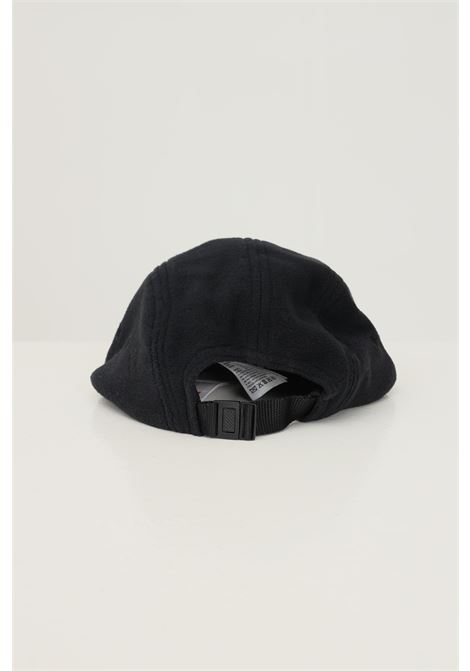 Black unisex hat by timberland with logo patch on the front TIMBERLAND | Hat | TB0A2NKB00110011
