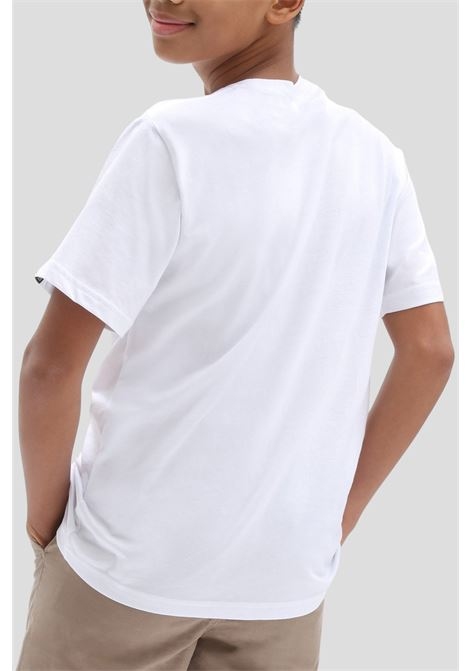 White baby otw logo fill t-shirt by vans VANS | T-shirt | VN0002R4ZAM1ZAM1
