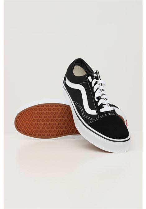 Black unisex old skool sneakers with white contrasting logo and sole vans VANS | Sneakers | VN000D3HY281Y281