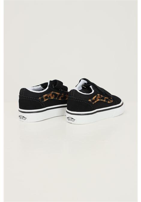 Sneakers old skool v neonato nero vans con inserti animalier VANS | Sneakers | VN000D3YNU01NU01