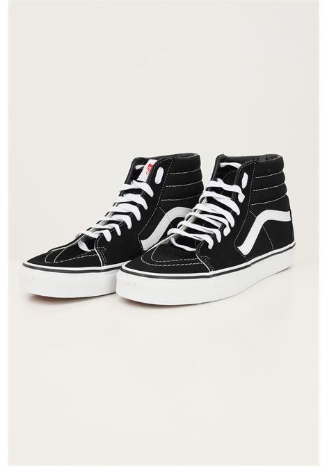 Sneakers sk8-hi unisex nero vans con logo a contrasto, modello stivaletto VANS | Sneakers | VN000D5IB8C1B8C1