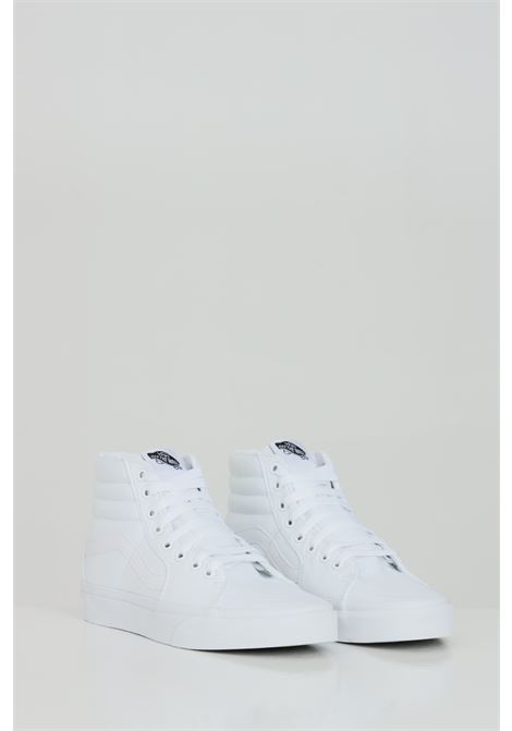 White unisex vans ua sk8 hi sneakers with tone on tone logo VANS | Sneakers | VN000D5IW001W001