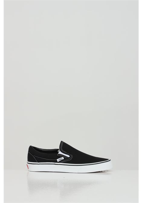 Sneakers classic slip-on unisex nero vans senza lacci VANS | Sneakers | VN000EYEBLK1BLK1