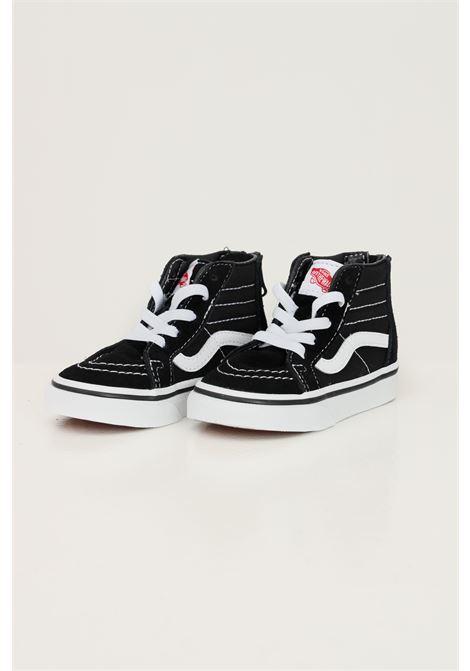 Black newborn sk8 hi zip sneakers by vans boot model with laces  VANS | Sneakers | VN000XG5Y281Y281