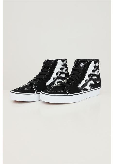 Sneakers sk8 hi unisex nero vans con stampa fiamme VANS | Sneakers | VN0A32QGK681K681