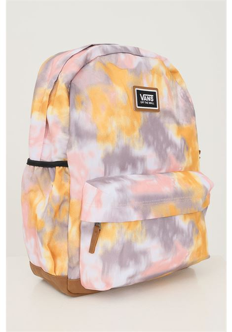 Multicolor unisex backpack by vans with logo patch on the front VANS | Backpack | VN0A34GLYZXYZX