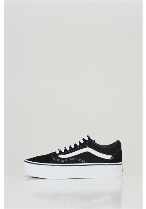 Black women's old skool platform sneakers with contrasting logo vans VANS | Sneakers | VN0A3B3UY281Y281