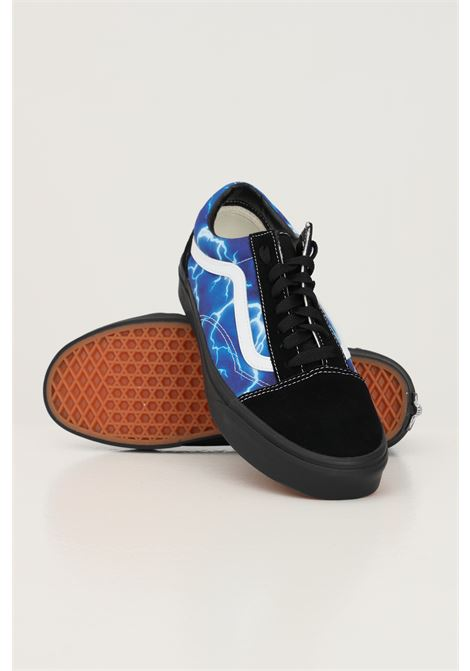 Black men's vans old skool lightning sneakers with side print   VANS | Sneakers | VN0A3WKT9FT19FT1