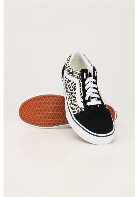Animal white women's old skool sneakers by vans with allover print VANS | Sneakers | VN0A3WKT9XB19XB1