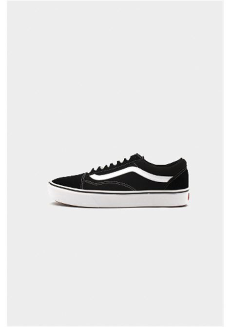 Black unisex sneakers with contrasting logo closure with laces VANS | Sneakers | VN0A3WMAVNE1VNE1