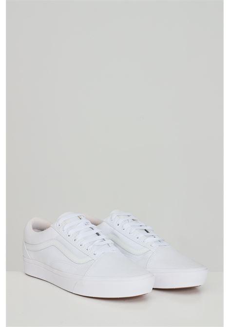 Sneakers comfycush old skool unisex bianco vans con logo tono su tono VANS | Sneakers | VN0A3WMAVNG1VNG1