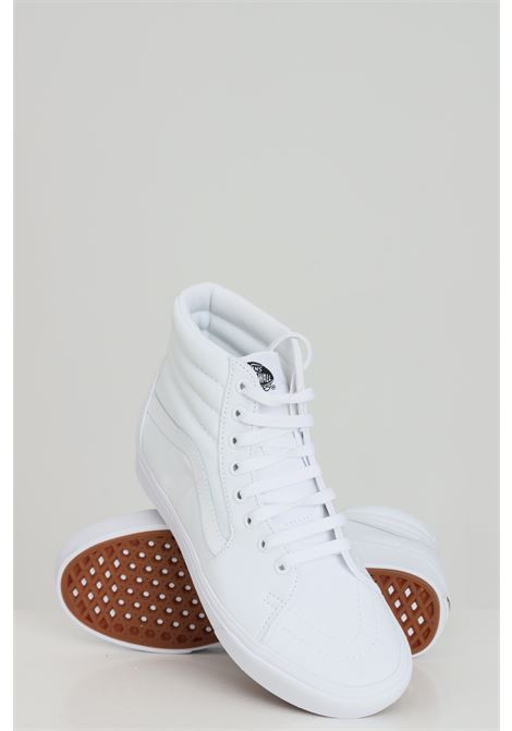 White unisex sneakers with tone on tone logo vans VANS | Sneakers | VN0A3WMBVNG1VNG1