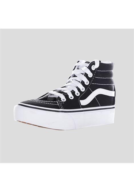 Sneakers platform bambino unisex nero vans modello stivaletto VANS | Sneakers | VN0A4P3S6BT1BLK1