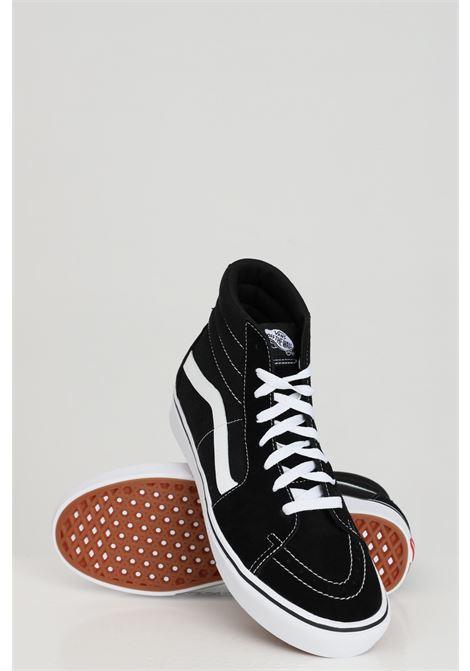Black women's sk8-hi tapered sneakers with contrasting logo vans VANS | Sneakers | VN0A4U161WX11WX1