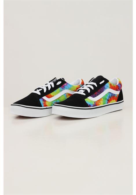 Multicolor old skool spiral tie dye unisex sneakers by vans  VANS | Sneakers | VN0A4UHZ99E199E1