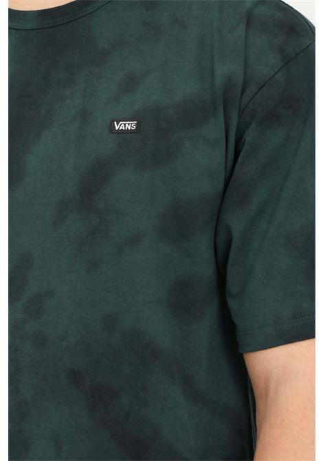 T-shirt classic spiral uomo verde vans a manica corta VANS | T-shirt | VN0A5EAFZA61ZA61