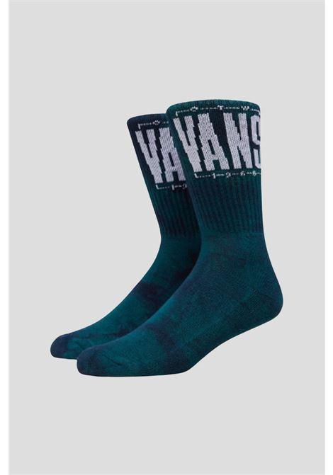 Blue unisex socks with contrasting logo by vans  VANS | Socks | VN0A5FHLZ931Z931