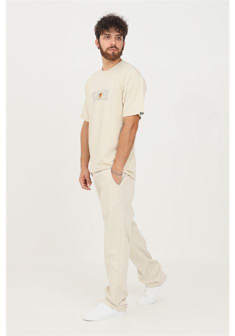 Pantaloni uomo beige vans modello casual VANS | Pantaloni | VN0A5FJ82N112N11