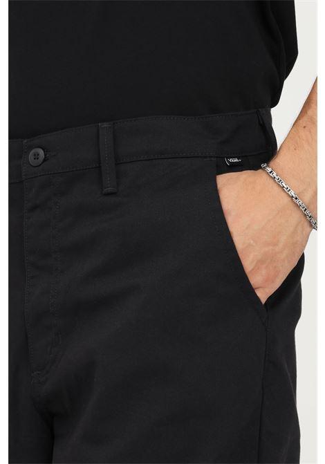 Pantaloni uomo nero vans modello casual VANS | Pantaloni | VN0A5FJBBLK1BLK1