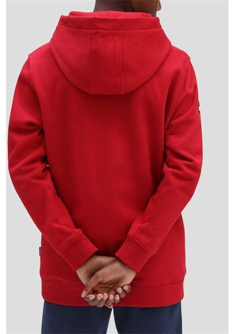 Red baby hoodie by vans VANS | Sweatshirt | VN0A5FMH14A114A1
